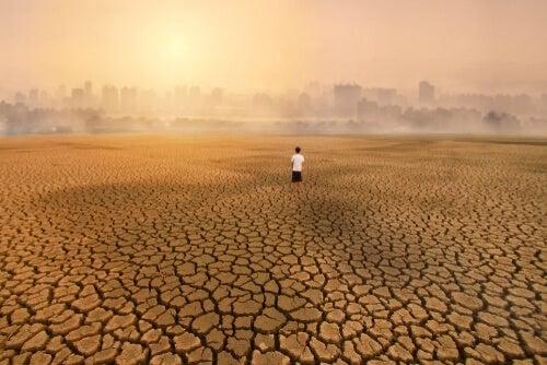 Eco ansia, conseguenza dei cambiamenti climatici