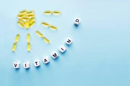 Vitamina D ed effetti sul corpo.
