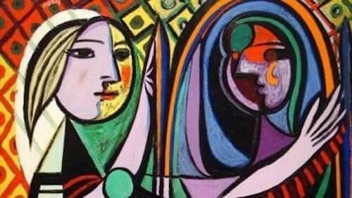 Quadro in stile cubista che rappresenta delle donne.