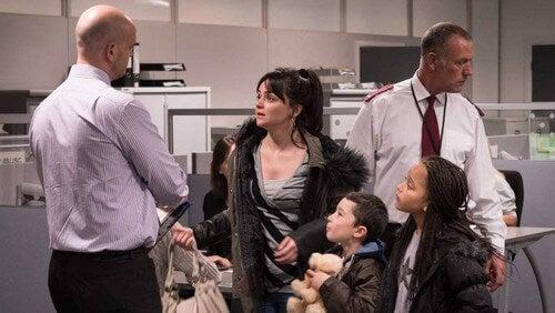 Una famiglia del film Io Daniel Blake.
