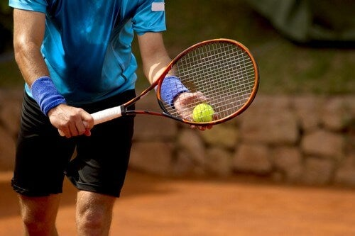 Gioco del tennis.