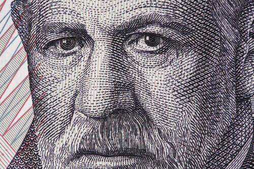 Illustrazione di Freud.
