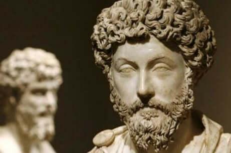 Busto di Marco Aurelio.