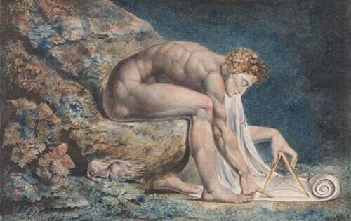 Newton di William Blake.