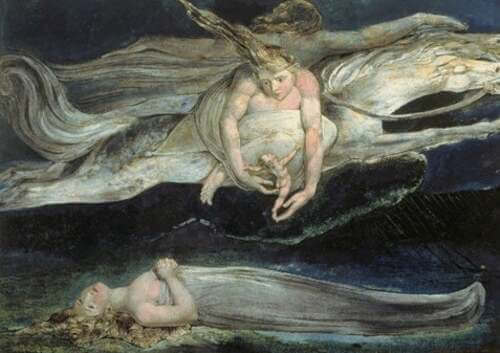Opera di William Blake.