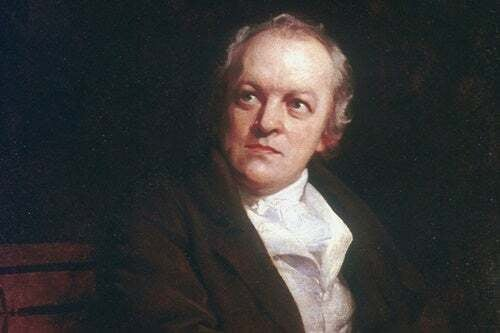 Ritratto di William Blake.