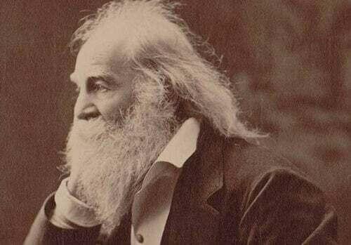 Walt Whitman anziano.