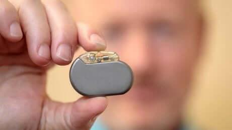 Dispositivo per la stimolazione del nervo vago.