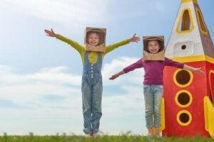 Travestirsi: benefici per i bambini