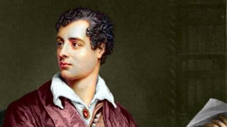 Ritratto di Lord Byron.