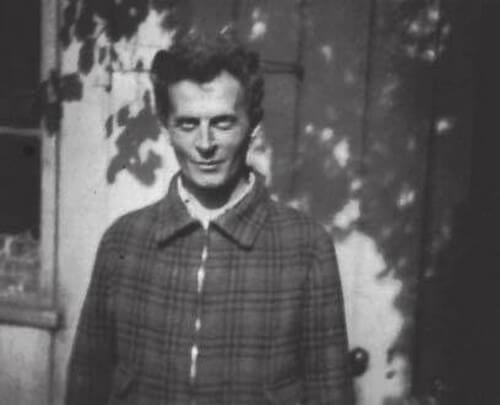 Foto di Wittgenstein .