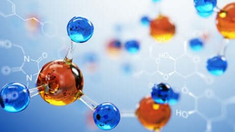 Modello di molecola.