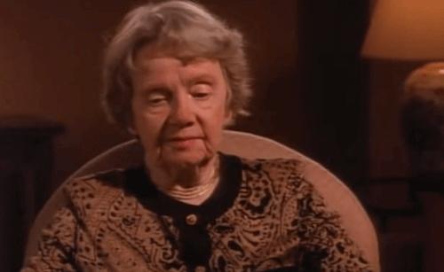 Ruth Benedict da anziana.