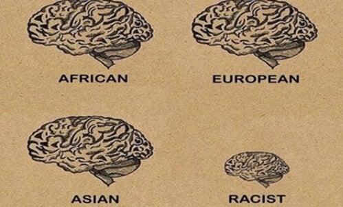 Il cervello di una persona razzista