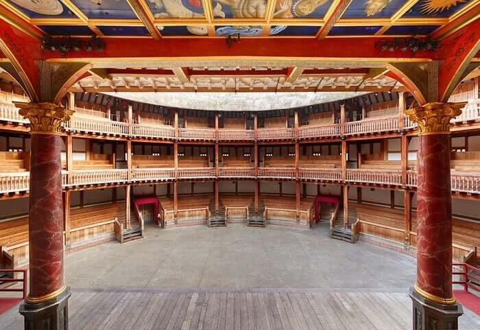 Globe Theatre a Londra.