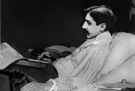 Marcel Proust malato.