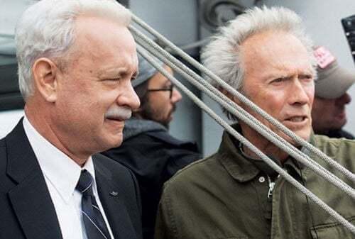Clint Eastwood e Tom Hanks girano il miracolo sull'Hudson.