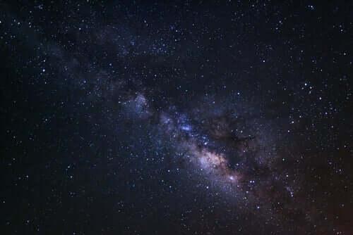 Foto della galassia.