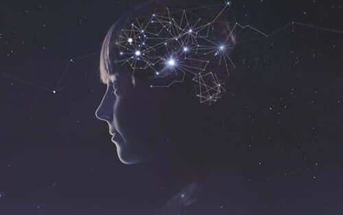 Costellazioni dentro il cervello di una bambina.