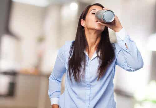 Effetti delle bevande stimolanti sul cervello