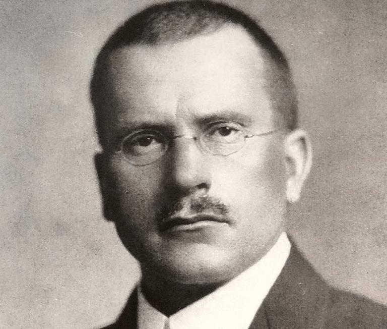 Foto di Carl Jung.