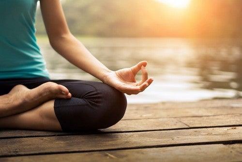 Persona che medita.