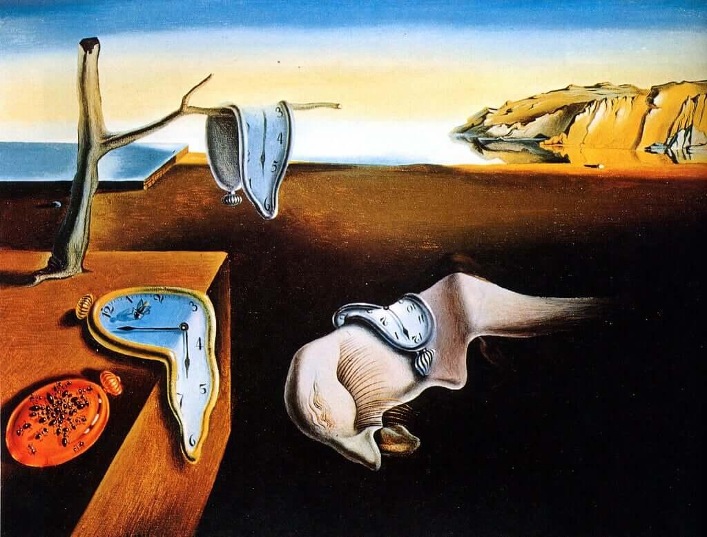 La persistenza della memoria opera Dalí.