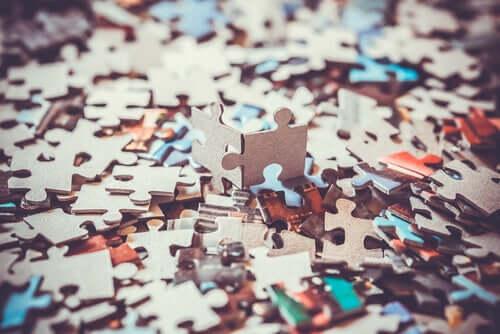 Pezzi di puzzle.