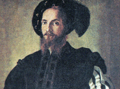 Quadro che ritrae Cesare Borgia.