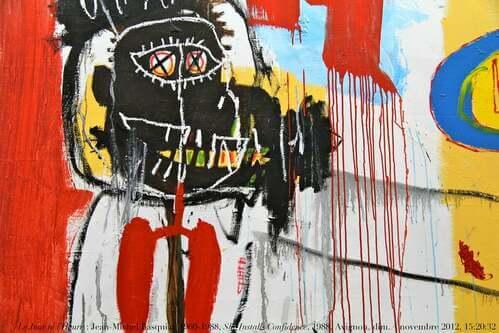 Quadro di Jean-michel Basquiat.