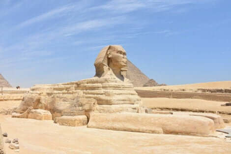 Il fascino della sfinge di Giza.