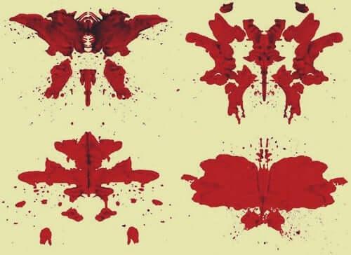 Test di Rorscharch macchie di colore.