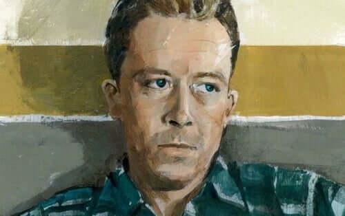 Ritratto di Camus.