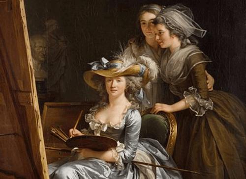 Adélaïde Labille-Guiard: pittrice a corte