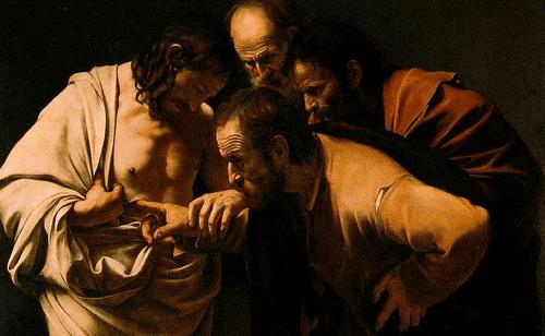 L'incredulità di San Tommaso.