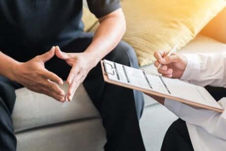 Psicologo e relazione con il paziente.