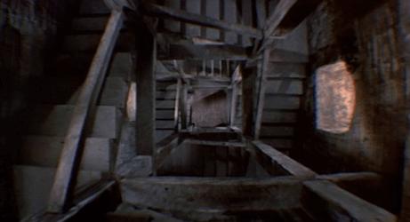 Scale viste dall'alto scena del film.