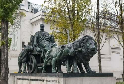 Statua di Marco Antonio.