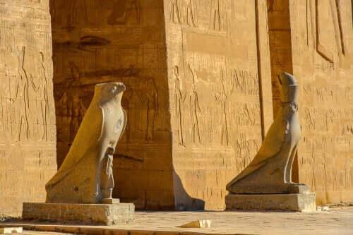 Tempio di Horus in Egitto.