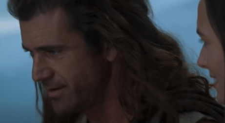 William Wallace in Braveheart.