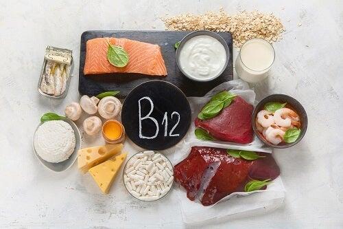 Alimenti con vitamina B12.