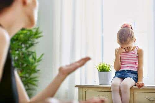 Gli effetti della punizione sul cervello del bambino