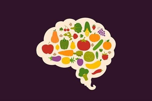 Nutrienti necessari per il cervello.
