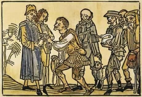 Immagine medievale di Anno Mille.