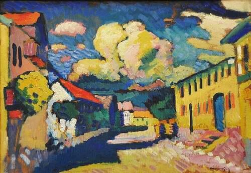 Opera di Kandinsky.