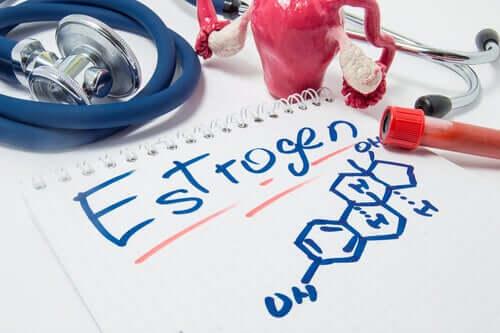 Formula chimica estrogeni.
