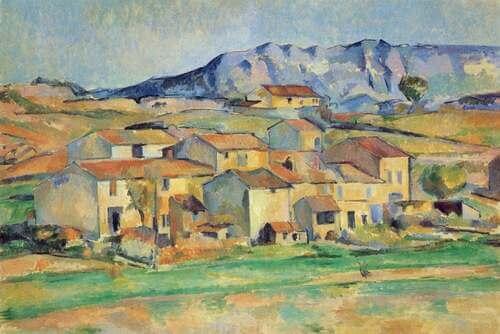 Opera di Paul Cézanne.