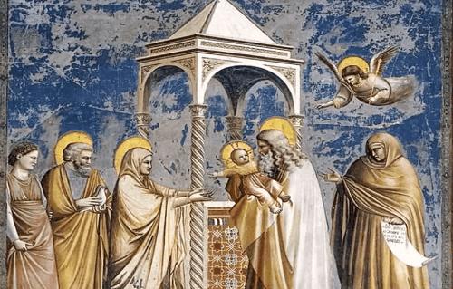 Affresco di Assisi.
