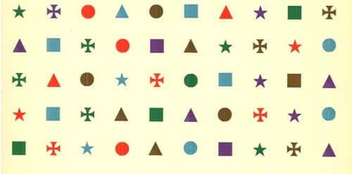 Immagini geometriche e colori.