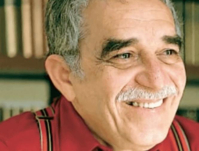 Primo piano di Gabriel Garcia Marquez.